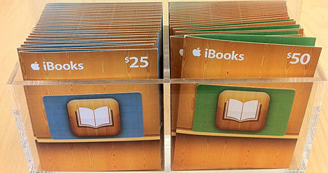 iBooks Store Gift Cards
