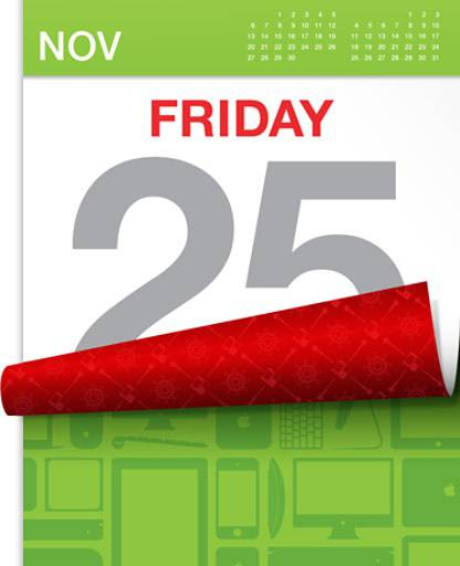 25 november Black Friday Apple