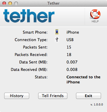 tether mac