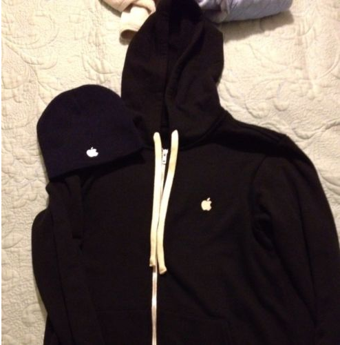 Apple Hoodie on ebay.com