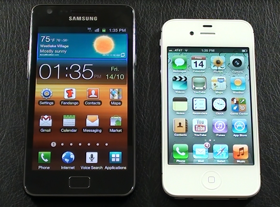Galaxy-S-ii-vs-iPhone-4S
