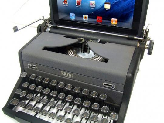 Док-станция USB Typewriter Computer Keyboard - 1