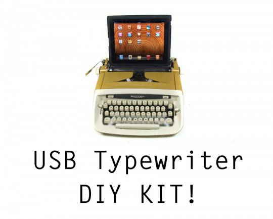 Док-станция USB Typewriter Computer Keyboard - 3