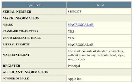 macroscalar_trademark_application