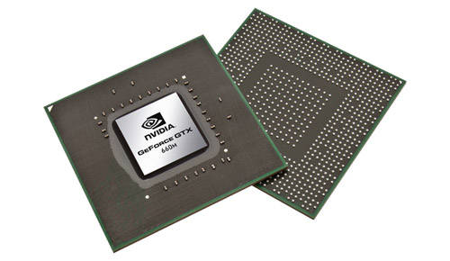 Видеокарты NVIDIA GeForce 600M