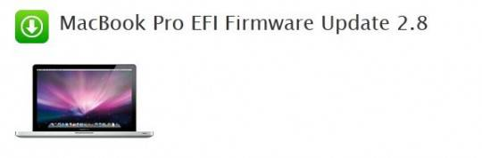 MacBook Pro EFI Firmware Update 2.8