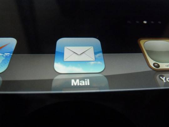 Иконка Mail The new iPad