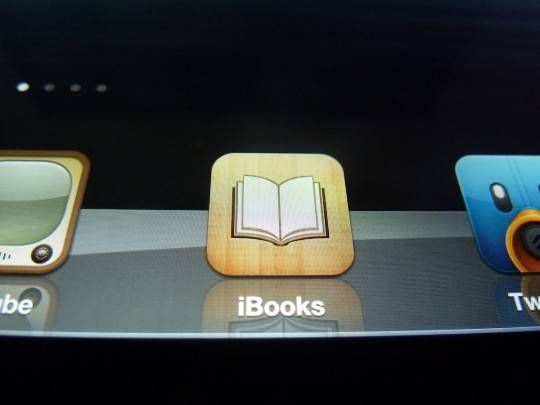 иконка iBooks The new iPad