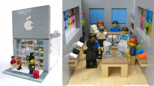 Lego Modular Apple Store