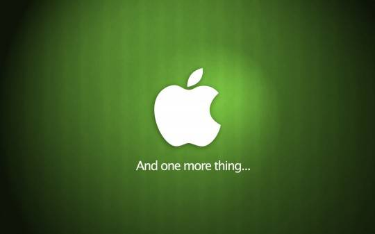 Apple и ее One More Thing