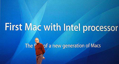 Apple switch to Intel