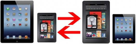 iPad mini vs. Kindle Fire