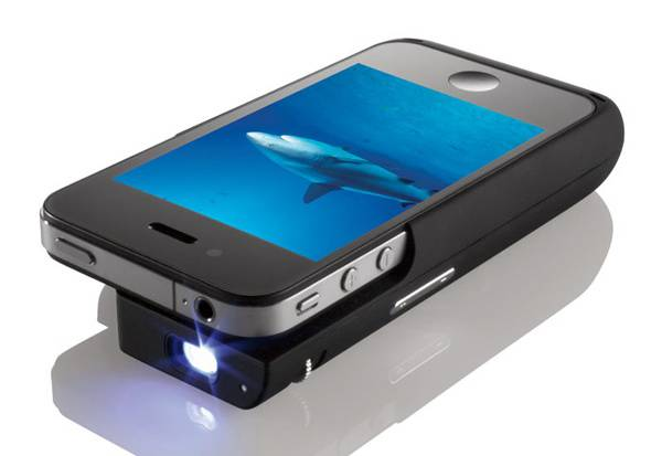 Brookstone Pocket Projector