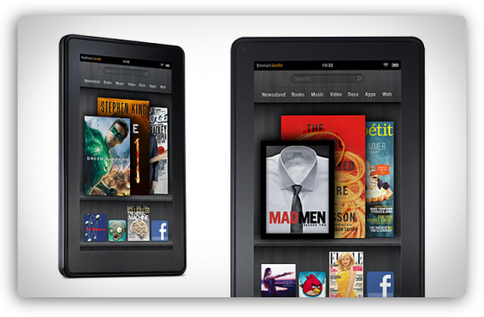 Вторых Kindle Fire будет два