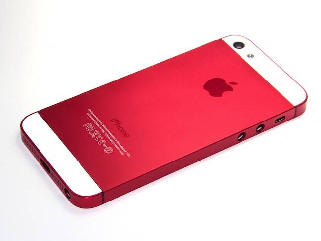 red_iphone_5