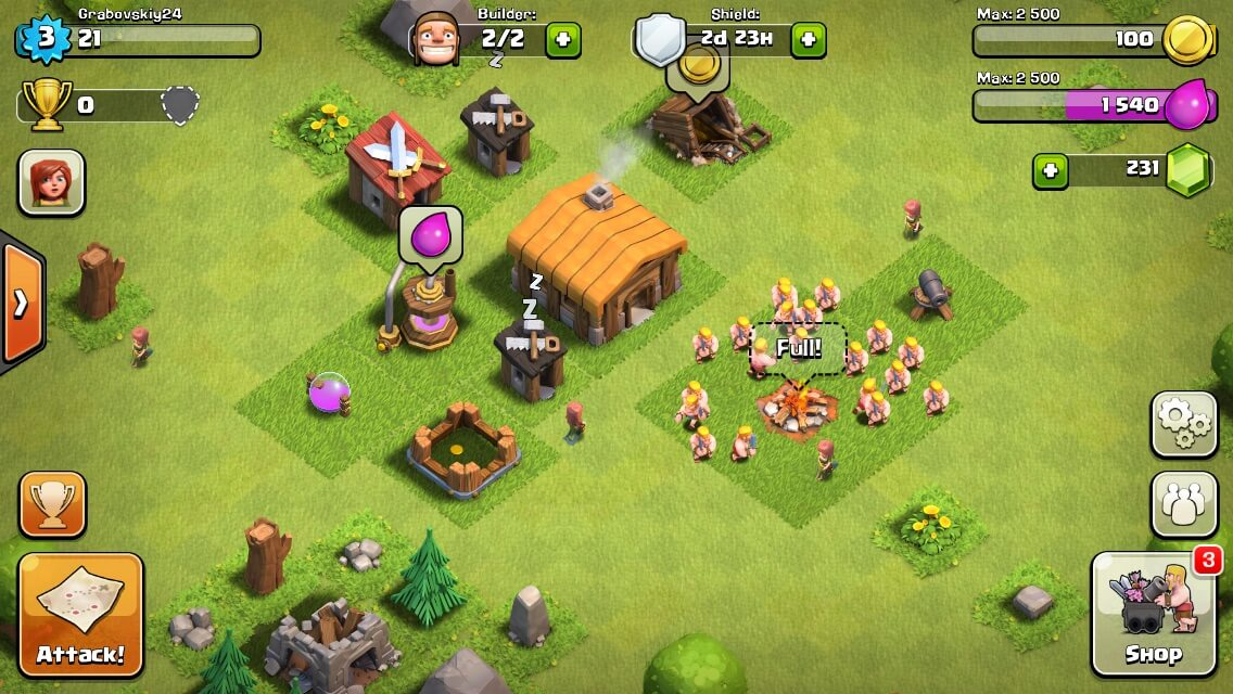 Clash of Clans appstore
