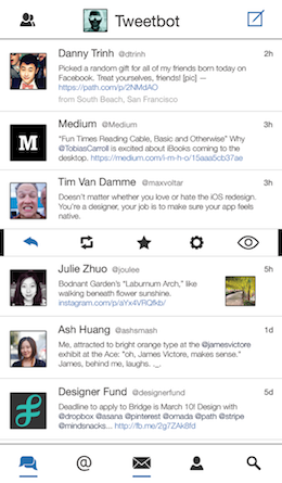 Tweetbot iOS7 mockup white