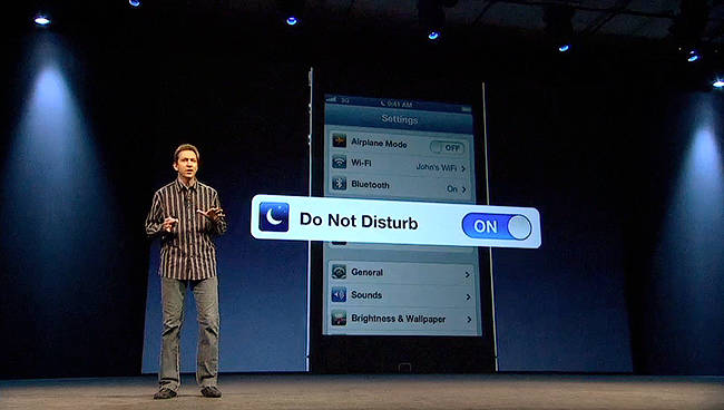 Forstall Do not Disturb