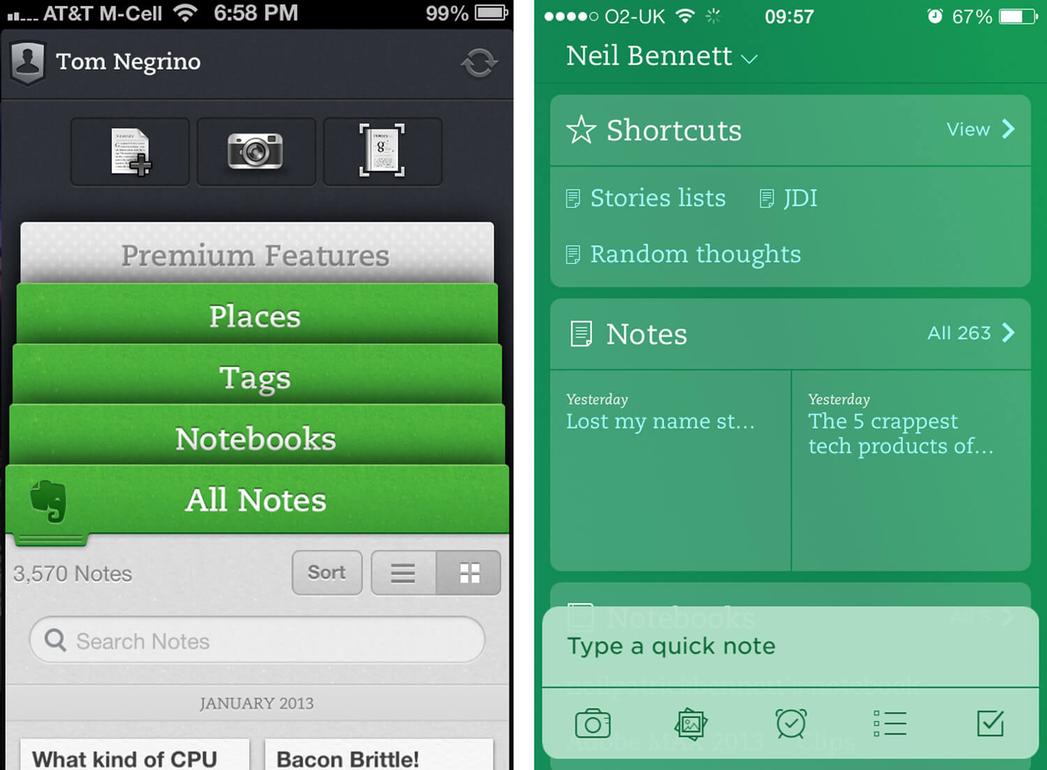 iOS-7-Evernote