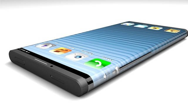 iPhone 6 curved screen all