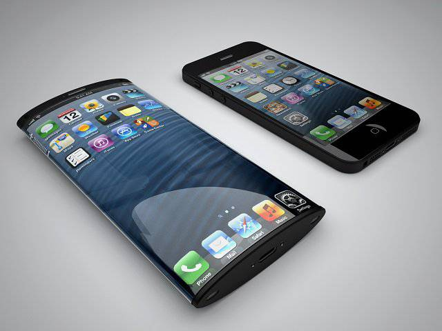 iPhone 6 curved screen