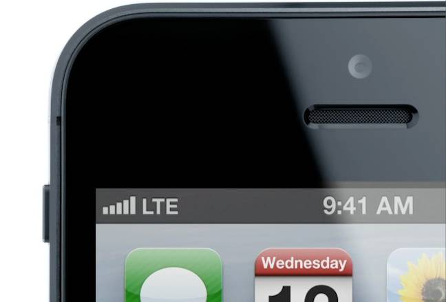 iPhone 5 LTE