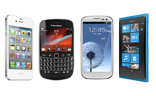 Blackberry-vs.-Android-vs.-iPhone-vs.-Windows-Phone