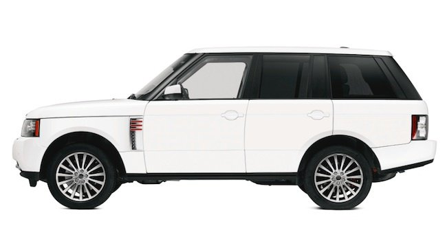 Range Rover by Jony Ive