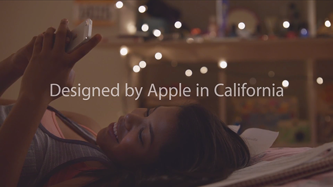 Designed by Apple ad