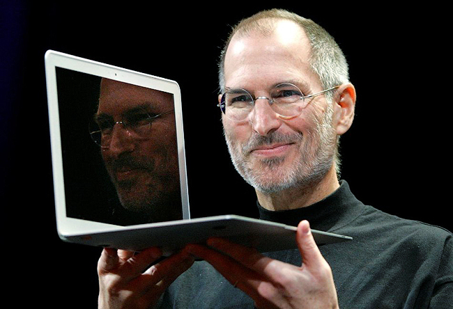 Steve Jobs 2008 Macbook Air
