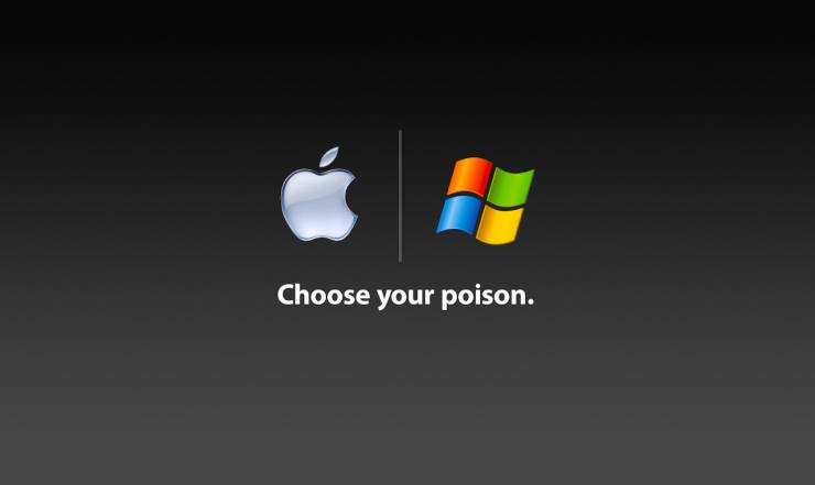 Apple or Microsoft Poison