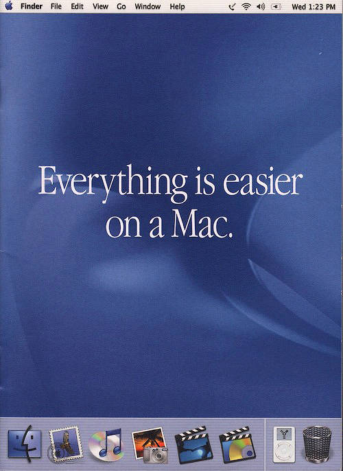 Everything easier on a Mac