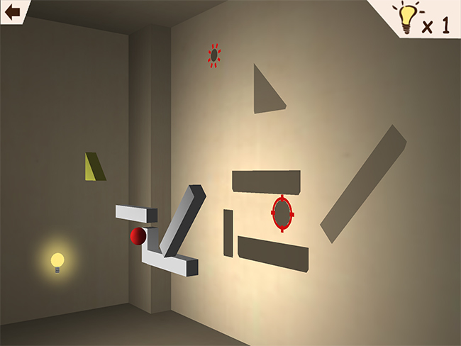 Echochrome Mobile HD: Shadow physics!