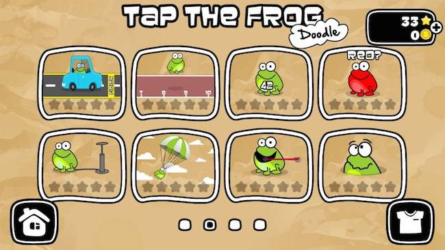 Tap the Frog: Doodle HD