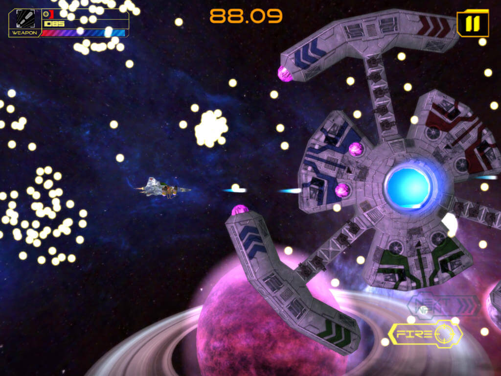 Exodite HD: Space action shooter