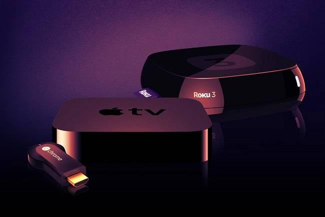 Apple TV, Roku и Chromecast