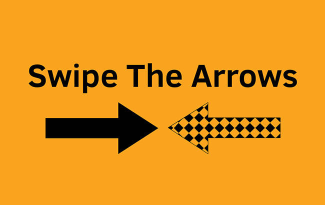 Swipe The Arrows