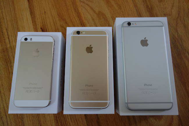 Apple iPhone 5s iPhone 6 iPhone 6 Plus back