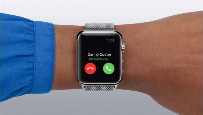 Apple-Watch-incoming-call
