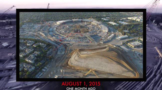 apple-campus-2-drone-footage-august