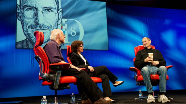 Steve Jobs at D8 Conference