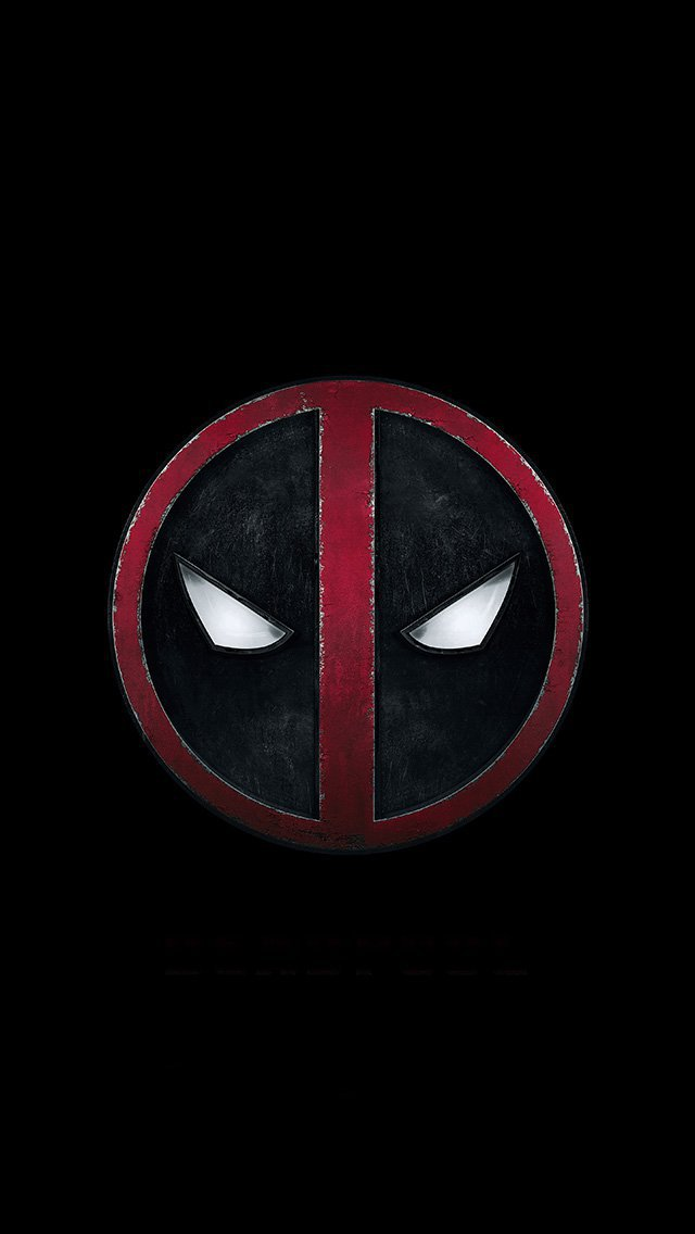deadpool-art-logo-hero-iphone-5