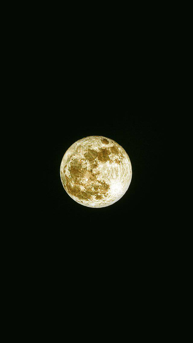 damian-moon-yellow-dark-nature-space-sky-iphone-5