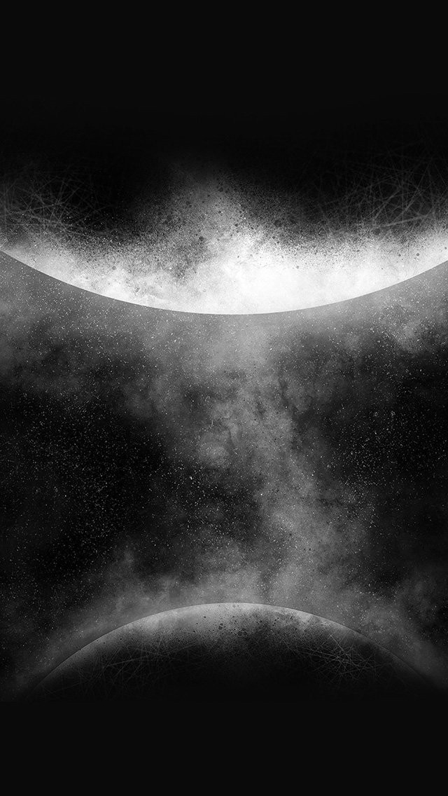 getting-orbit-ios9-art-illust-space-dark-bw-iphone-5