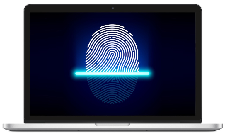 MacBook с Touch ID