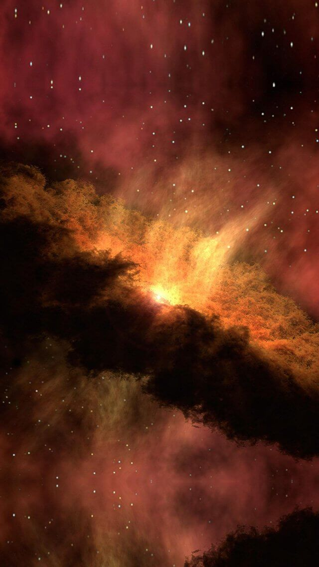 space-red-nebula-star-awesome-iphone-5