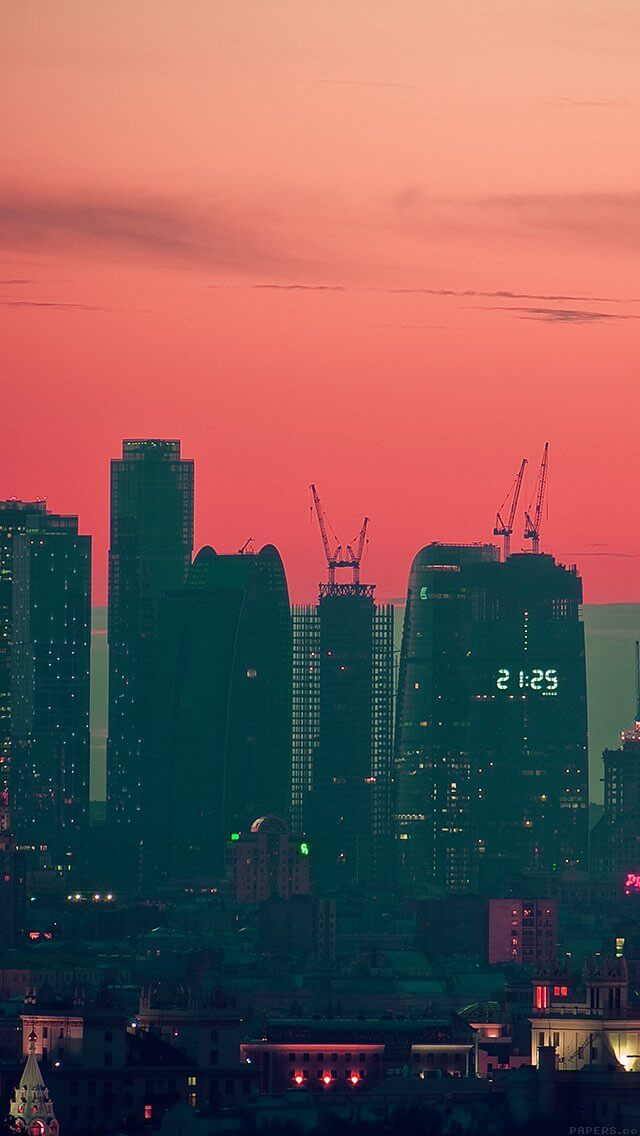 tower-building-city-pink-view-nature-iphone-5