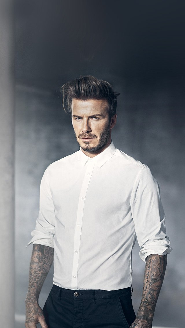 beckham-model-sports-handsome-iphone-5