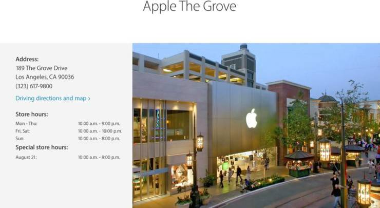 Apple The Grove