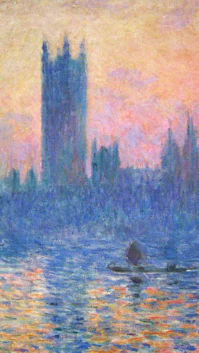 claude-monet-classic-painting-art-sunset-pattern-iphone-5